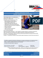 BBA - Damp Proof Course - Certificate