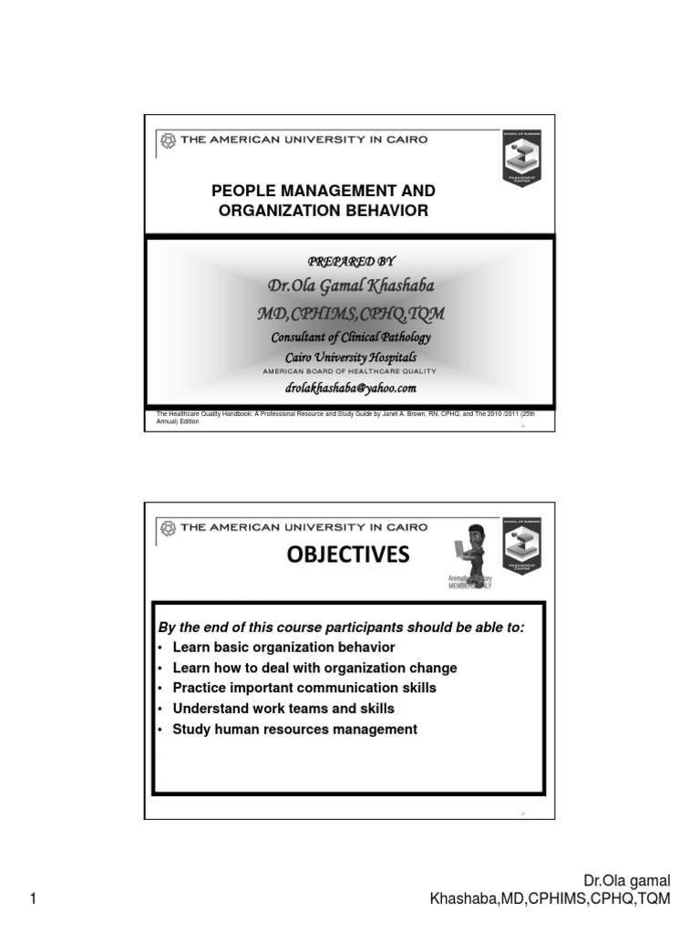 1) Candidates Concepts of the Organization   Organizational