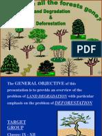 PPT on Deforestation