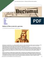 Ștefan Cel Mare Și Arta de a Guverna _ ..