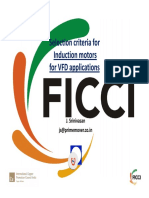 Motor Selection for VFD Aplications