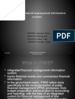 INTEGRATED FINANCIAL MANAGEMENT INFORMATION SYSTEMS