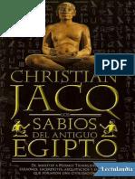 Los Sabios del antiguo Egipto - Christian Jacq.pdf