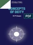 [H. P. Owen (Auth.)] Concepts of Deity