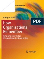 [Paddy O'Toole] How Organizations Remember Retain(BookZZ.org)