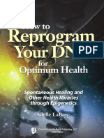 How to Reprogram Your DNA for Optimum Health