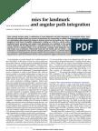 Neural Dynamics for Landmark Orientation and Angular Path Integration_seelig2015