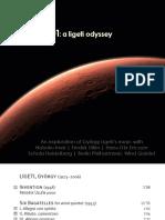 1948-2001 - A Ligeti Odyssey