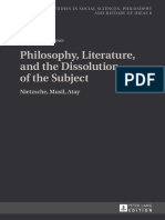 [Studies in social sciences philosophy and history of ideas 6] Atay, OДџuz_ Musil, Robert_ Nietzsche, Friedrich Wilhelm_ Talay-Turner, Zeynep - Philosophy, litera.pdf