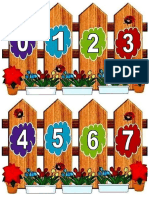 Gardul Cu Numerele - Buburuze