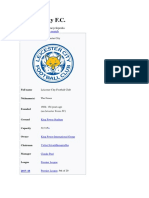 Leicester City F