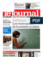 8370556461 Le Journal 2 Septembre 2010