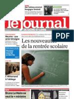 Le Journal 2 Septembre 2010