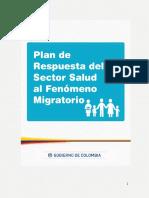 Plan Respuesta Salud Migrantes