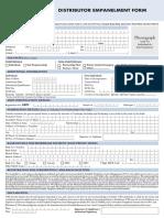 Distributor Empanelment Form