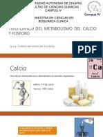 Trastornos Del Metabolismo Del Calcio y Fosforo