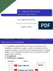 Clase 11 - IND231 - 2014-1