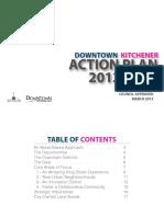 Downtown Kitchener Action Plan 2012-2016