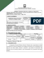 Programa 2016 Finanzas Públicas Y Derecho Tributario Comision de Carrera