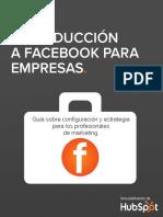 SPANISH-Introduccion a Facebook Para Empresas