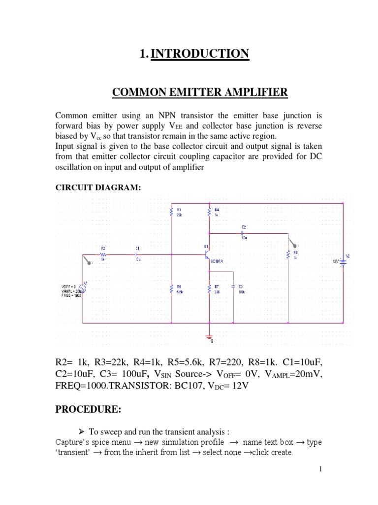 Electronic Circuit Analysis Pspice Amplifier Circuits Pushpull Oscillator Oscillatorcircuit Signalprocessing