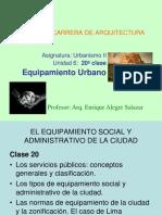 20a Clase Equipamiento Urbano Urb II (1)