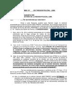 ACTUADOS POLICIALES
