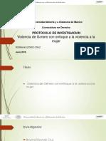 Universidad Abierta y a Distancia de México. Violencia de Género Protocolo