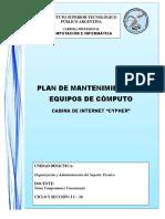 Plan de Mantenimiento