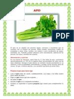 APIO  verduras