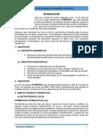 Informe de Yacimientos Mienrales i