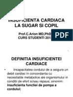 INSUFICIENTA CARDIACA LA SUGAR SI  COPIL.ppt
