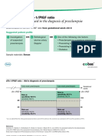 Preeclampsia SFlt-1-PlGF Ratio - Pocket Card