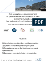 Meur-Ferec, Catherine - LITTORAL 2010 - Risk Perception, a key component of systemic vulnerability of coastal zone to Marine Inundation
