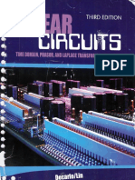 Raymond A. DeCarlo, Pen-Min Lin-Linear Circuit Analysis_ Time Domain, Phasor, and Laplace Transform Approaches-Kendall Hunt Publishing (2009).pdf