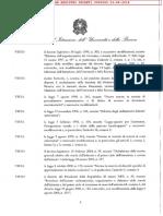 Decreto test Scienze Formazione Primaria 2018