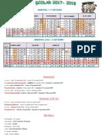 Structura Anului 2017-2018