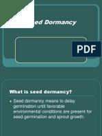 Seed Dormancy