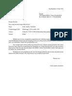 Surat Resign