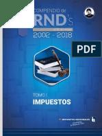compendio de RND 2002 2018 Bolivia SIN