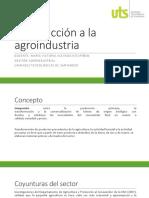 Introducción a La Agroindustria 2018