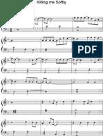 (Sheet Music - Piano) Killing Me Softly (PDF)(2)