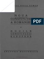 Noua Constituţie a României - 23 de Prelegeri Publice - Cu o Anexă Cuprinzând Nouile Constituţii Europene ((1923))