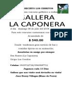 Gallera La Caponera