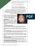 Democradura en Honduras