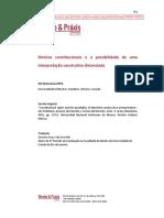 Waluchow - Direitos constitucionais e a possibilidade de uma interpretação construtiva distanciada.pdf