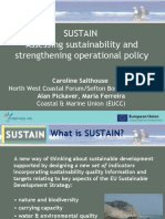 Salthouse, Caroline - LITTORAL 2010 - Assessing Sustainability and Strengthening Operational Policy