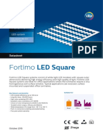 Fortimo LED Square 380mm 5000lm HV1 A06