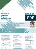 HEC RAS Diseño Canal Trapezoidal (1)