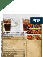 menu final